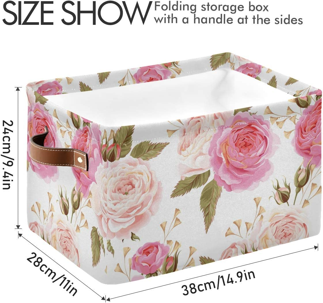Multipurpose storage bin floral