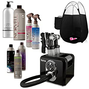 Black Venus Elite Spray Tanning Kit