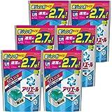 【ケース販売】 アリエール 洗濯洗剤 液体 パワージェルボール 詰替用 超お得サイズ 940g (48個入り)×6個