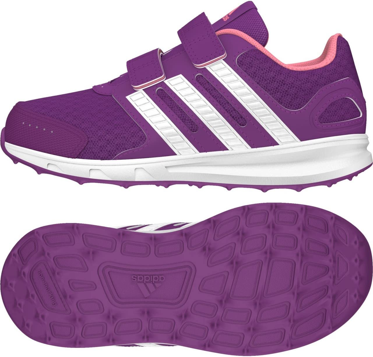 adidas Intersport 2 CF K – shopur/ftwwht/sepigl, 33: Amazon.es ...