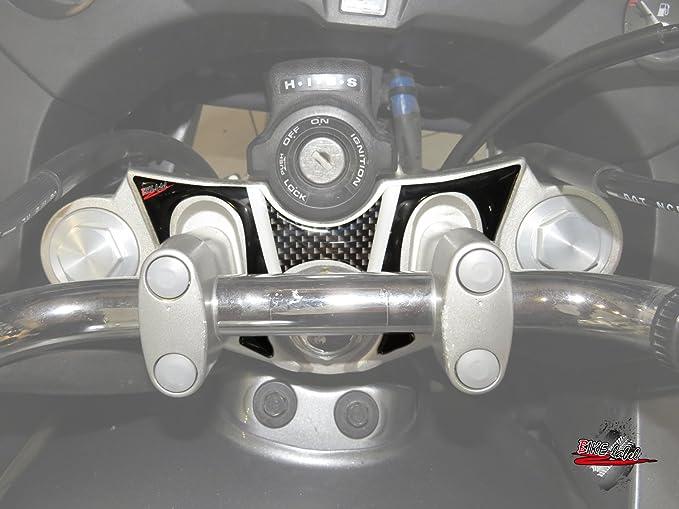 550001-VA Fourche Pad 3d Carbon Stripes Protection Convient pour Honda CBF 1000