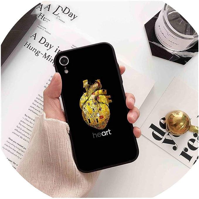 Milagro Day - Carcasa para iPhone 8, 7, 6, 6S Plus, X, XS, MAX, 5, 5S, SE, XR, de órganos Humanos, Cerebro, meridiano, riñón, Arte de Moda: Amazon.es: Electrónica