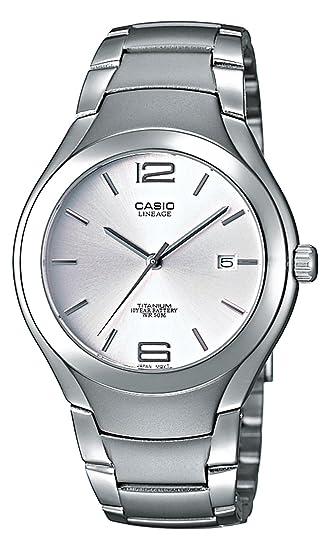 f3a0e8842ebb Casio Reloj con Correa de Metal para Hombre LIN-169-7AVEF  Amazon.es   Relojes