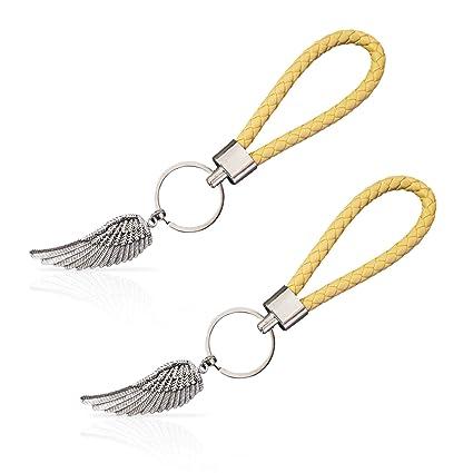 Llavero con alas de ángel de la Guarda - Regalo para Parejas ...