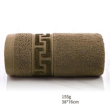 Toallas CHENGYI Microfibra Hotel de algodón de Gama Alta más Gruesa Inicio Tomar Agua de absorción de Agua de baño (Color : Brown): Amazon.es: Hogar