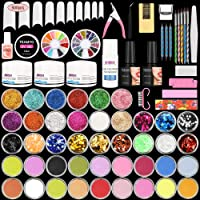 Teamyo 42 in 1 Acrylic Nail Kit with Everything