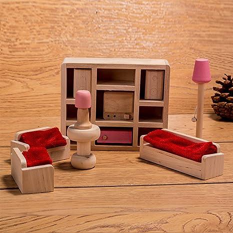 HorBous Set Mobili per Casa di Bambola Mobili Miniatura Casa Bambole ...