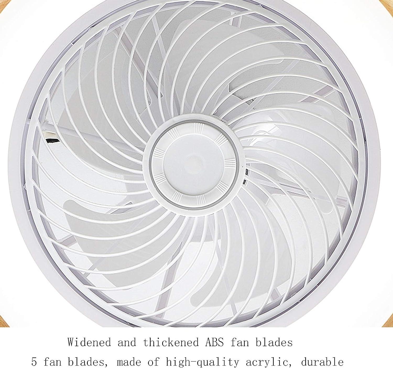 Ventilador De Techo LED 72W Con Iluminaci/ón Luz De Techo Invisible Con Ventilador Silencioso Velocidad Del Viento Ajustable Y Luz Del Ventilador Con Control Remoto Regulable Para Dormitorios De Ni/ños