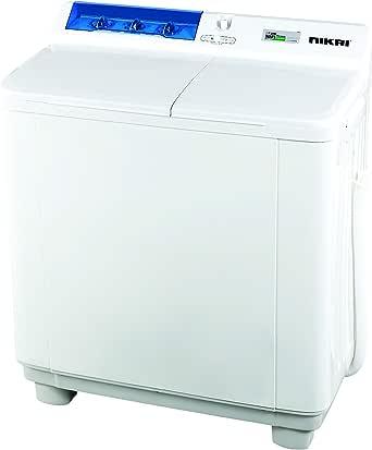 Nikai 10Kg Semi-Automatic Top Load Washing Machine, White ...