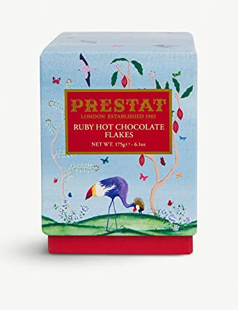 Prestat Ruby Hot Chocolate Flakes 6.17 oz: Amazon.com ...