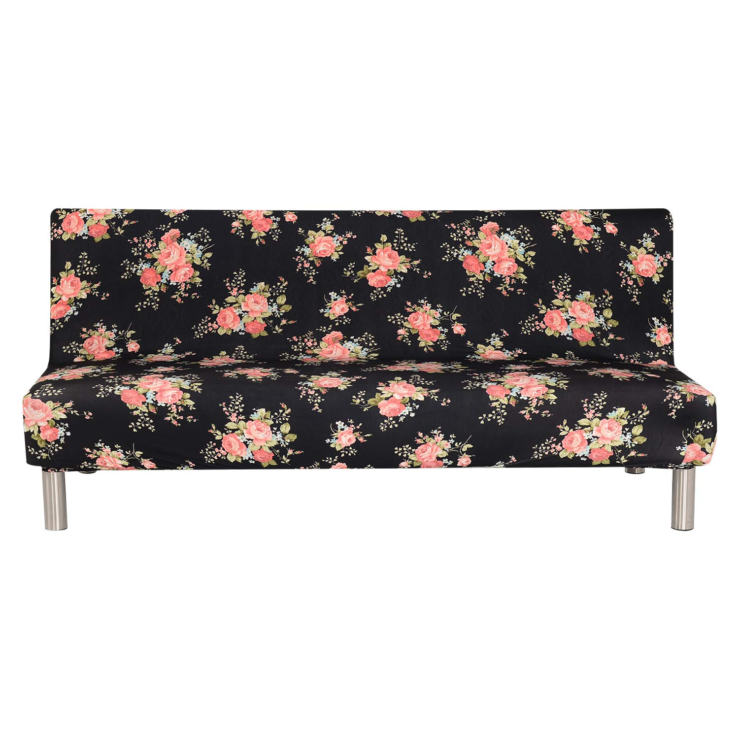 UTOVME Sofa Cover 3 Seater for Armless Sofa/Sofa Bed, Stretchy Couch Slipcover Furniture Protector