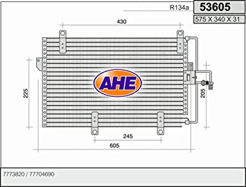 Tremendous Air Conditioning Condenser Fiat Tipo Automatic And Manual Wiring Database Gramgelartorg