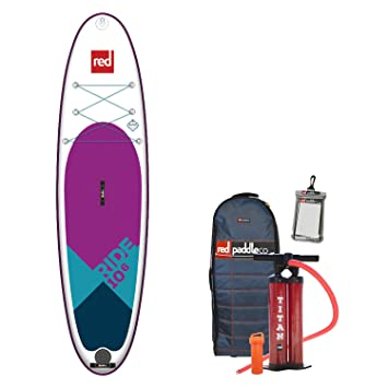 Red Paddle Co 2018 Ride 106 Special Edition Inflatable Stand Up Paddle Board +