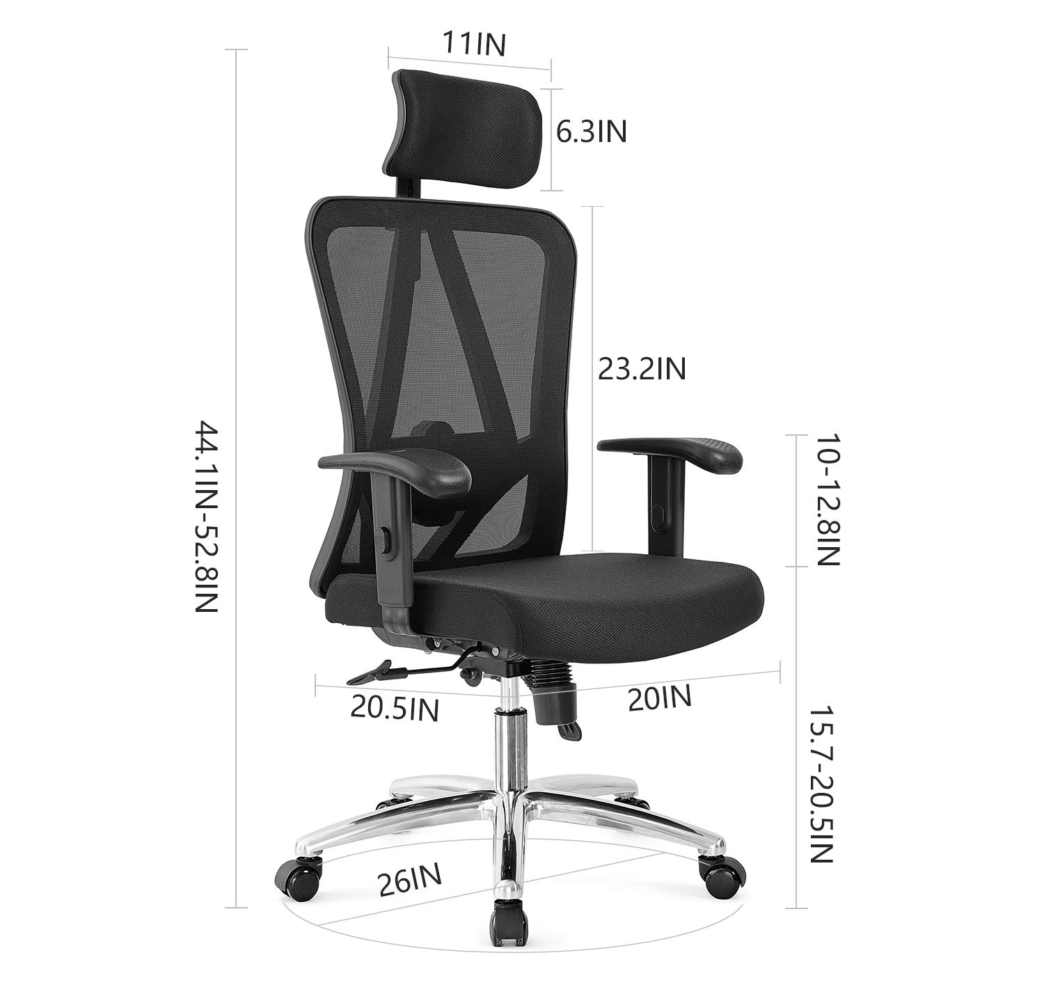 Office Chairs For Short Heavy People (>500 Lbs)
