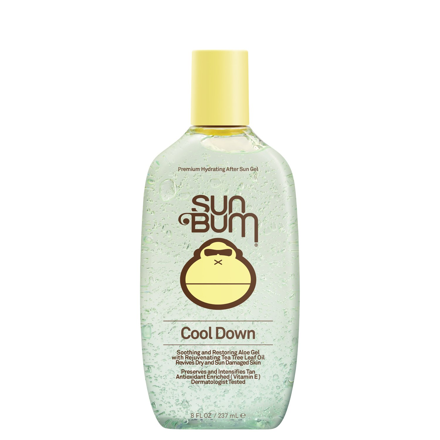 Sun Bum Cool Down Aloe Vera Gel | Vegan and Hypoallergenic After Sun Care with Cocoa Butter to Soothe and Hydrate Sunburn Pain Relief | 8 oz, Model:Sun Gel