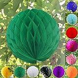 "20CM/8"" Honeycomb sfera Balls lanterne di carta da sposa festa di compleanno Mela verde"