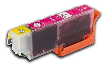 La tinta calamar Epson T33 X L 1 Magenta (rojo) Claria naranjas ...
