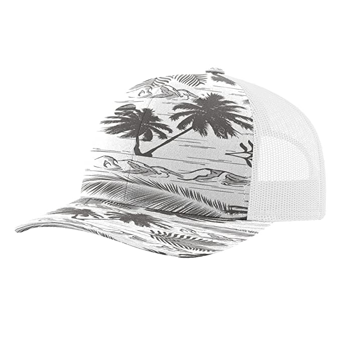 1aa323f2 Image Unavailable. Image not available for. Color: Twill Mesh Back Trucker  Snapback Hat -- CHARCOAL ...