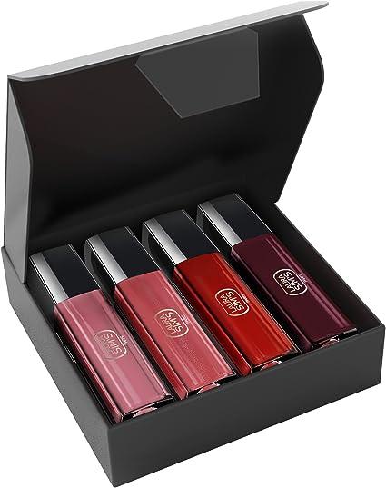 LAURA SIMS - Estuche Love of Colour con pintalabios líquidos de acabado mate: Amazon.es: Belleza