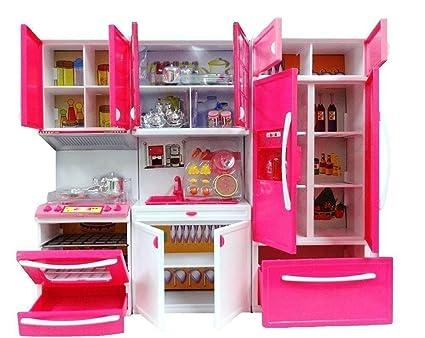 Buy Aksh Dream House Kitchen Set Kids Luxury Battery Operated