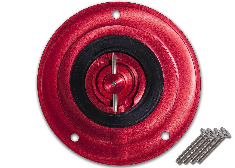 Transparent Red Hose /& Stainless Red Banjos Pro Braking PBF4478-TRD-RED Front Braided Brake Line