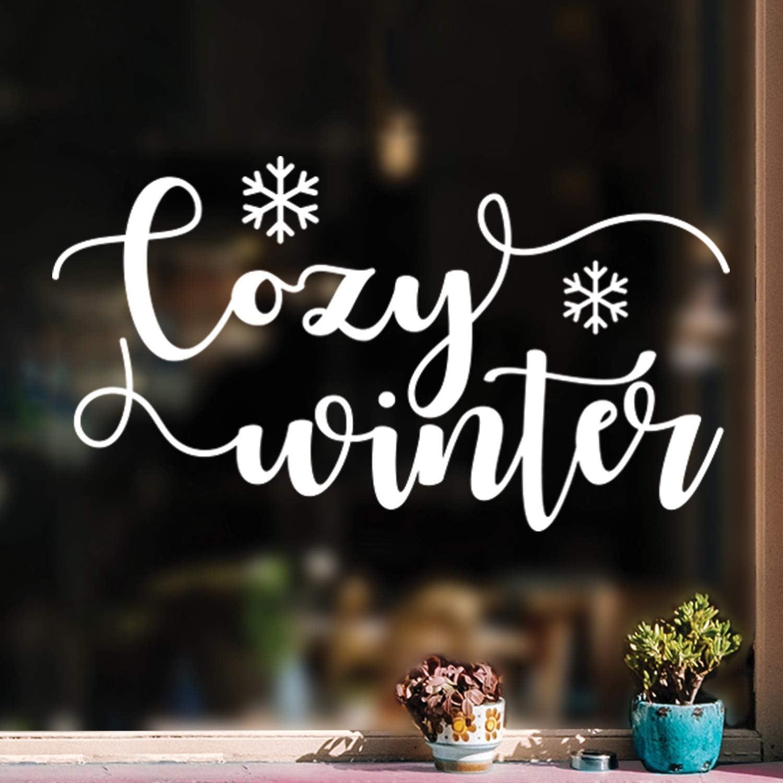 Vinyl Wall Art Decal - Cozy Winter - 17
