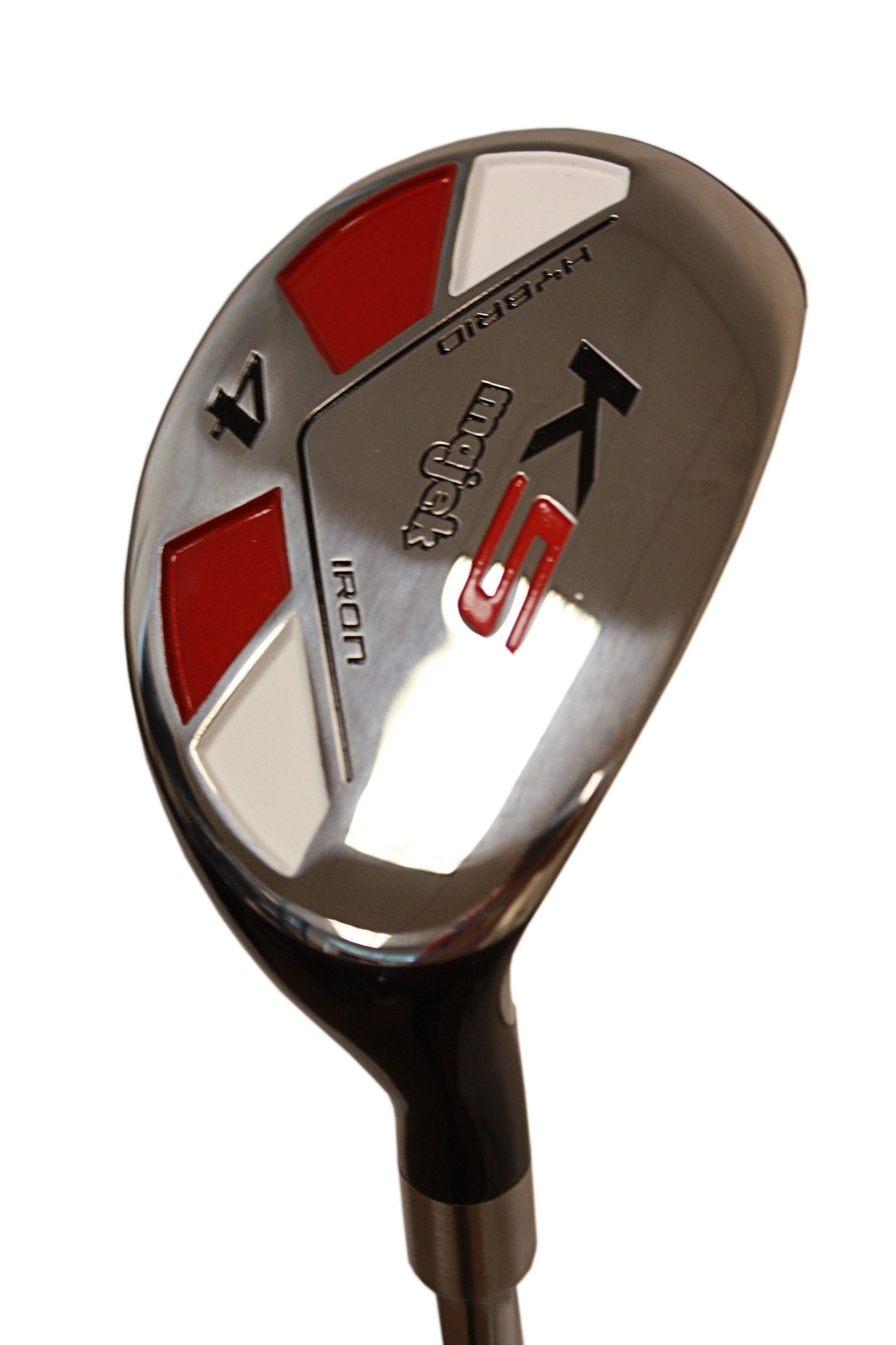 Big Tall Golf All True Hybrids Majek +1'' Longer Than Standard Length (Plus One Inch Longer) Set All Complete Full Set, Which Includes: #3, 4, 5, 6, 7, 8, 9, Pw Regular Flex R Right Handed New Rescue Utility Hybrid by Majek K5 Men's All True Hybrid Set (Regular Flex) (Image #9)