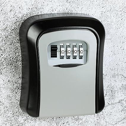 chiave stoccaggio scatola di serratura parete rangement sicuro con 4