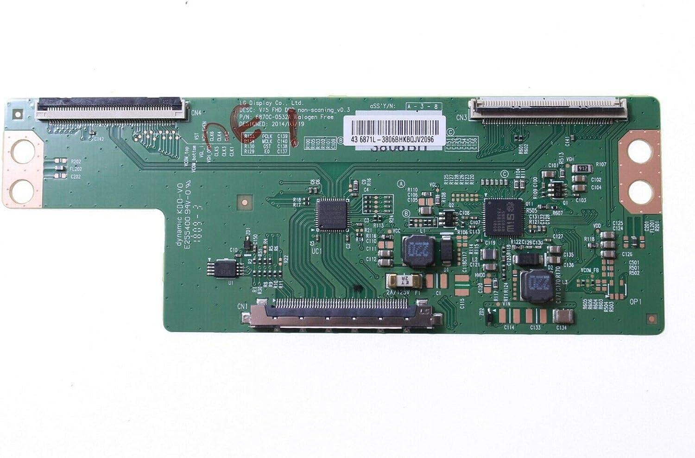 Sharp 6871L-3806B T-con Board 6870C-0532A LC430DUY-SHA1 - Pegatina para Panel: Amazon.es: Electrónica