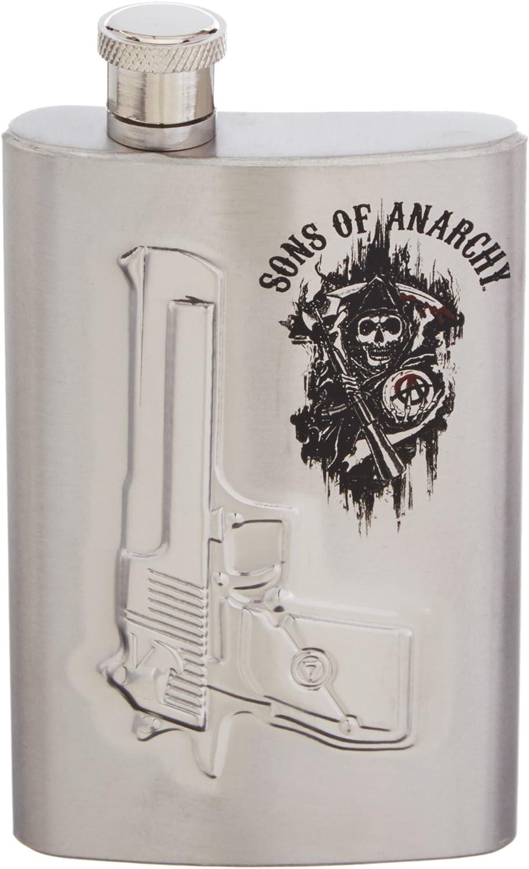 Sons Of Anarchy Gun Logo Flask: Amazon.es: Juguetes y juegos