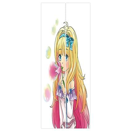 Amazon Com 3d Door Wall Mural Wallpaper Stickers Anime Cute Manga