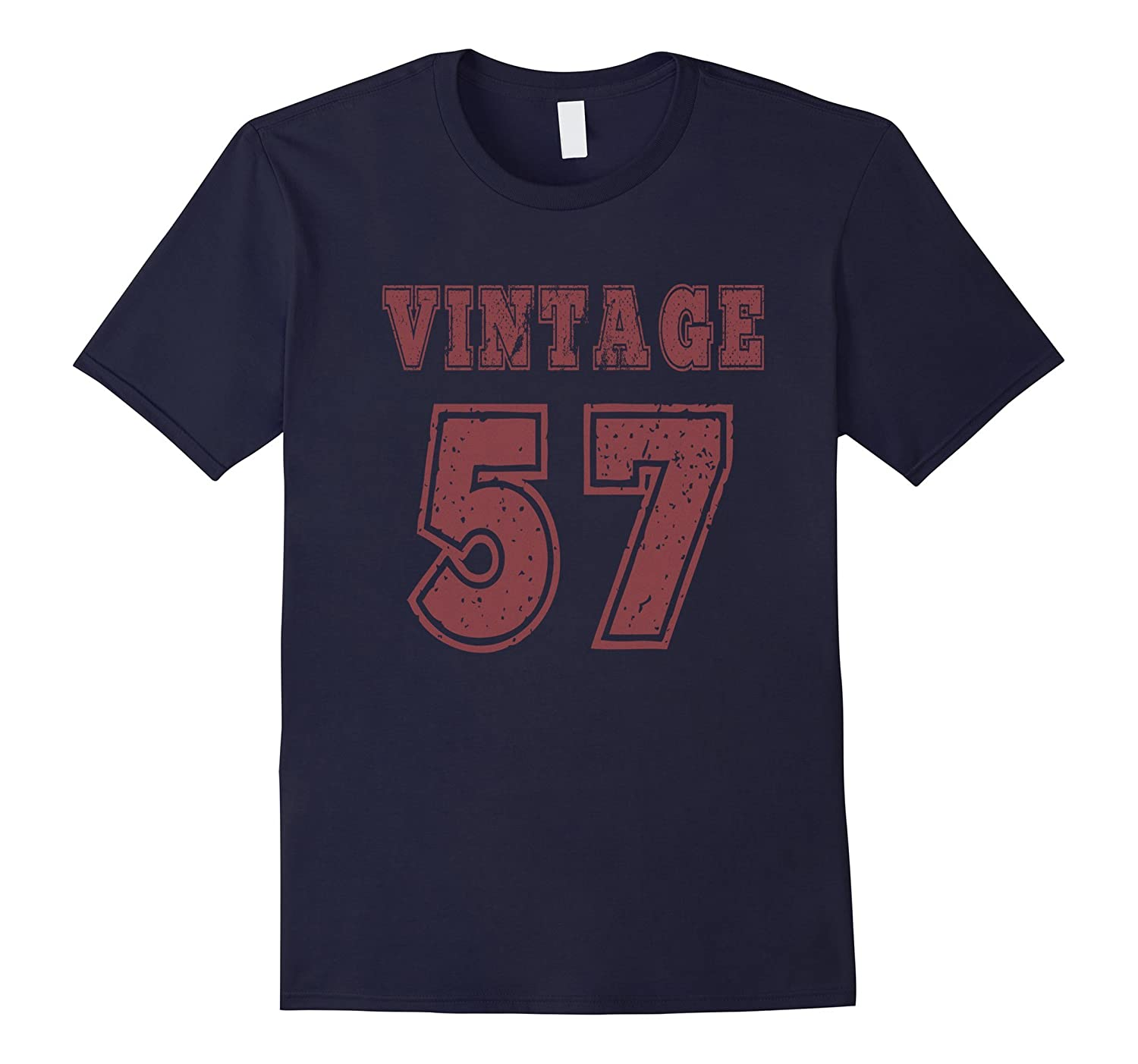 1957 Vintage Birthday Gift T-shirt For Men Women-CD