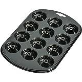 Kaiser 2300646176 Creativ Moules à muffin mini-goukloff Acier Noir