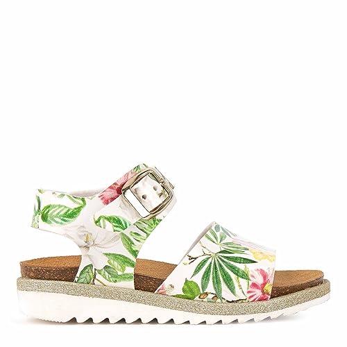 Monnalisa Bambina 8c1017 Bianco Sandalo Primaveraestate 26: Amazon