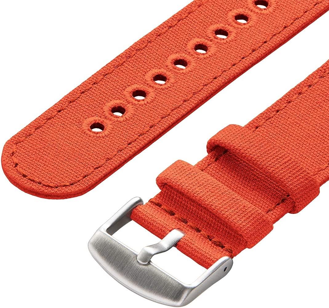 Archer Watch Straps   Correas Reloj Lona de Liberación Rápida para Hombre y Mujer   para Relojes y Smartwatch, 18mm, 20mm, 22mm