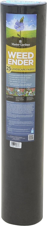 Master Gardner Weedender 25-Year Commercial Grade Weed Control Landscape Fabric 3 Feet x 50 Feet