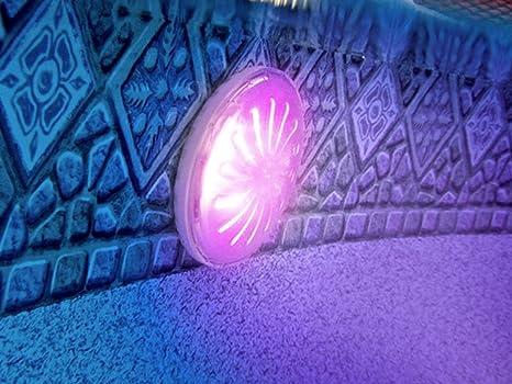 Gre pled c faretto magnetico led color per piscina fuori terra