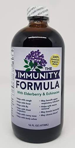 THE ELDERBERRY FORMULA WITH ECHINACEA – 16 FL OZ. 1 PACK
