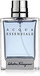Salvatore Ferragamo Acqua Essenziale Eau de Toilette Spray for Men, 1.7 Ounce