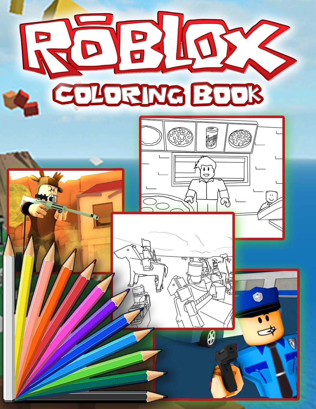 Jailbreak Roblox Coloring Pages