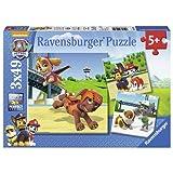 Ravensburger 9239 Paw Patrol Jigsaw Puzzles - 3 x 49 Pieces