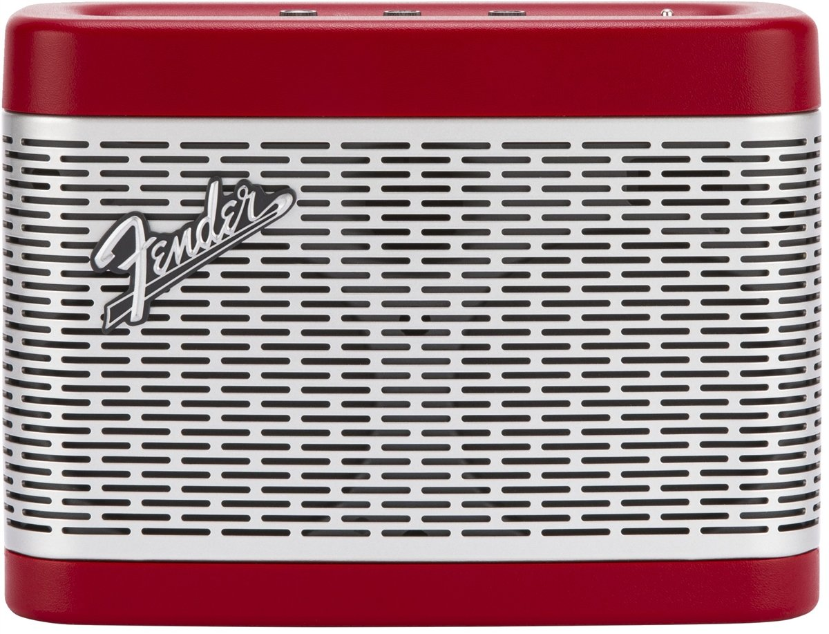 Fender 6960100054 Bluetooth Portable Speaker (Red)