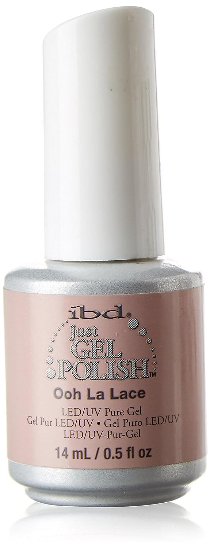 IBD Just Gel Soak Off Light Pink Nail Polish, Ooh La Lace IBDG0122