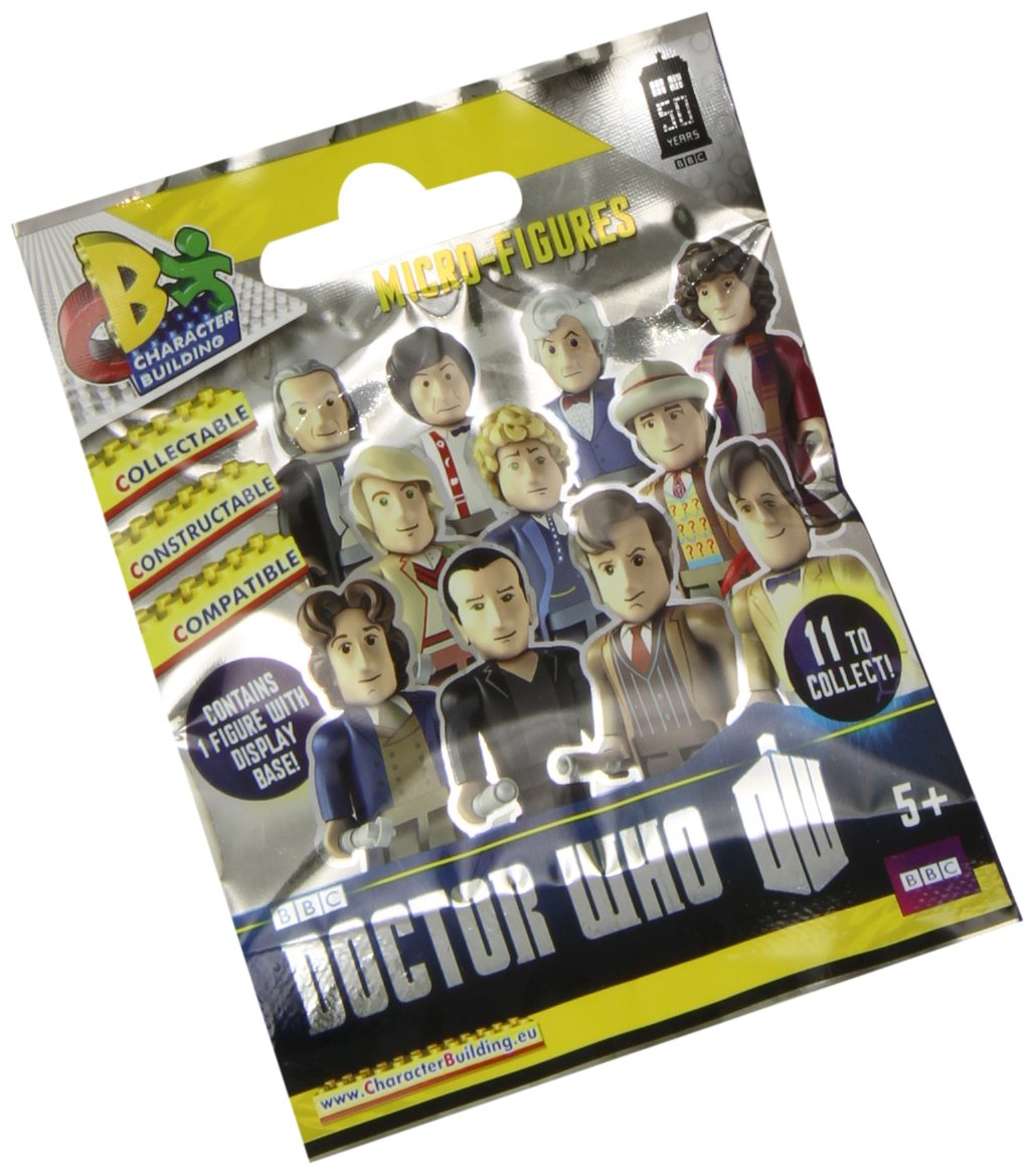 Hot Topic Character Building Doctor Who 50th Anniversary Micro Blind Bag Figure