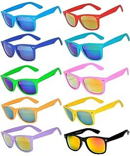 Amazon.com: 6,5,10,18 pares de gafas de sol estilo retro ...