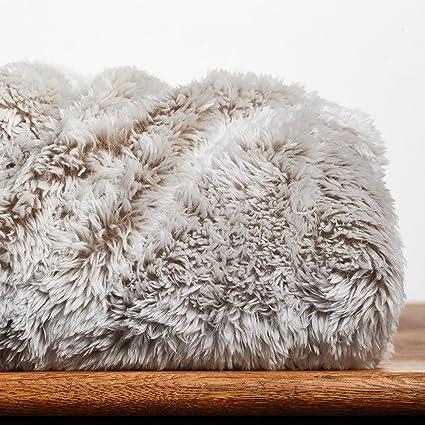 Amazon Berkshire Blanket Frosty Tipped ExtraFluffy Throw Plush Fascinating Berkshire Blanket Fluffy Throw