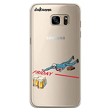 dakanna Funda para [Samsung Galaxy S7 Edge] Dibujo: Calavera ...