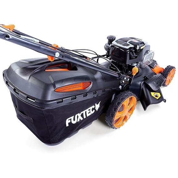 Cortacésped de gasolina FX-RM20BS675iS de Fuxtec con accionamiento ...