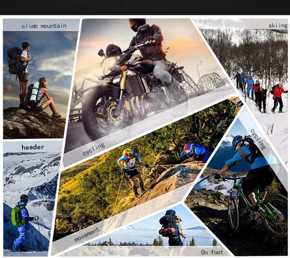 WERNG Gants De Moto dhiver Gants De Moto 100/% Imperm/éables Cuir Chaud Coupe-Vent Gants D/équitation Hommes Et Femmes pour Le Cyclisme//Ski en Hiver