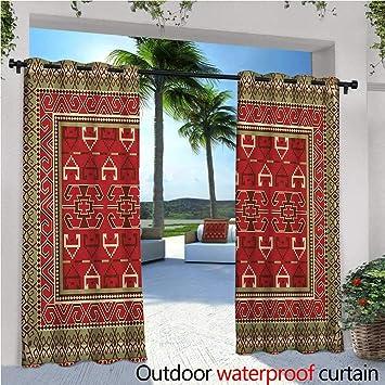 Amazoncom Turkish Pattern Exterioroutside Curtains Rectangular